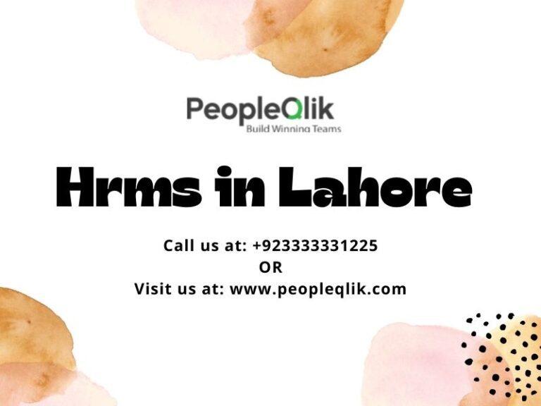 HRMS في لاهور: ساعد إدارة الموظفين باستخدام أدوات تتبع الوقت